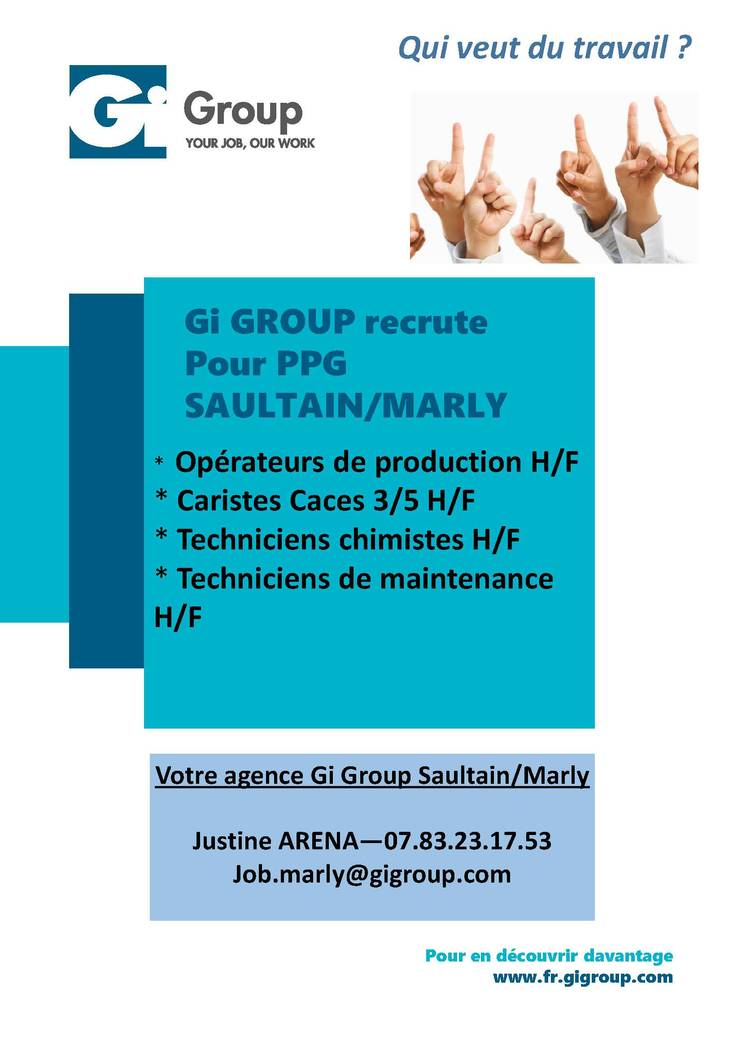 AFFICHES RECRUTEMENTS