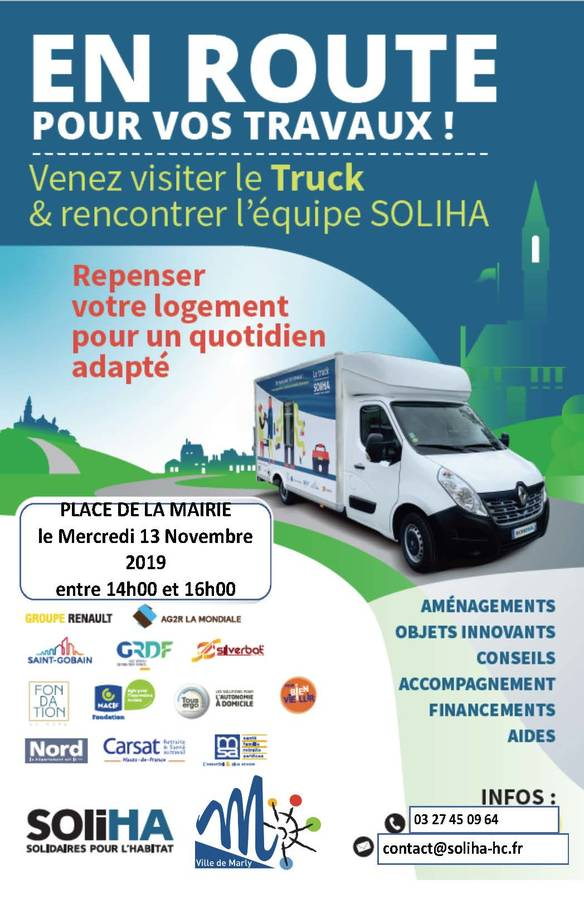 affiche Truck Marly