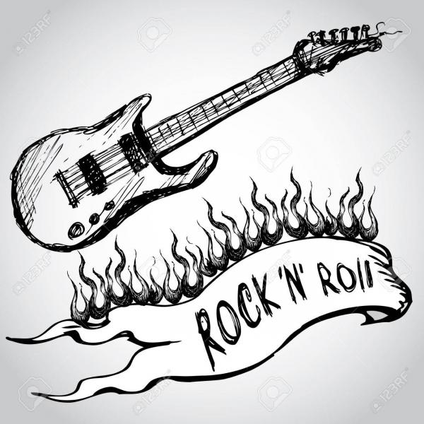 ROCK, DRUMS & GUITARS