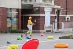 chasse aux oeufs jardin d'enfant - 26 04 2019