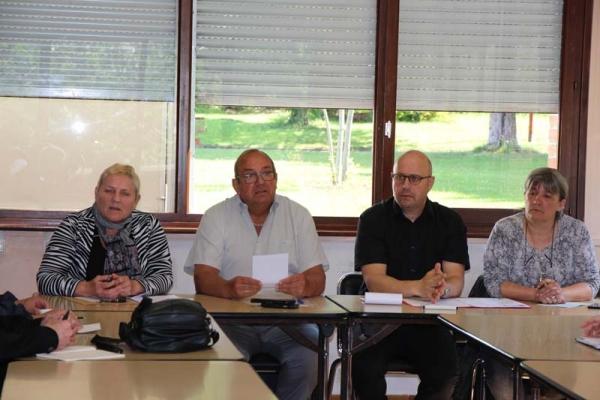 La Paroisse Saint-Eloi de la Rhônelle à la rencontre du CCAS de Marly
