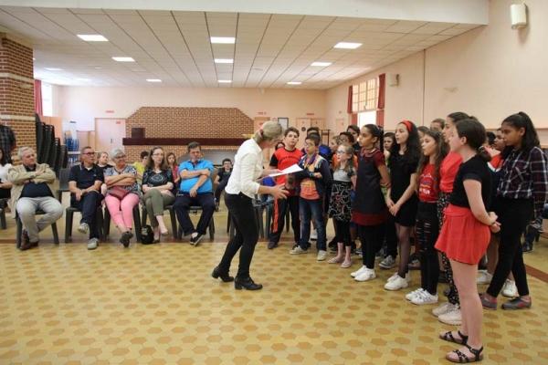 Les écoliers de Marly se retrouvent pour une rencontre musicale !