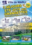 Départ Grangettes - 08 au 17 juillet 2019