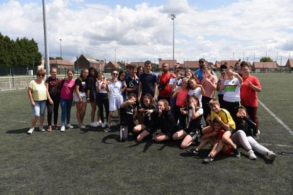Vendredi 12 juillet 2019, le Club Ados et le LALP étaient au Stade Papin