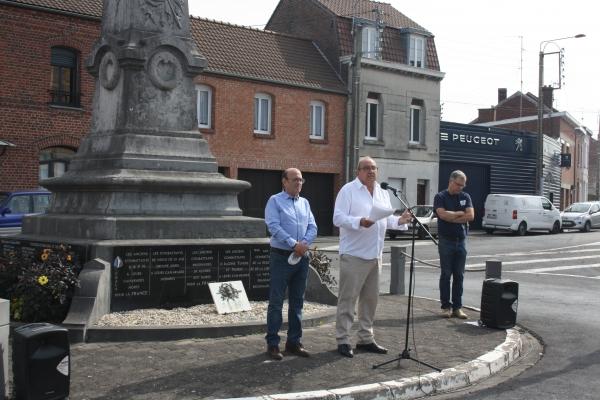 Marly rend hommage aux victimes des crimes racistes et antisémites de l'Etat Français