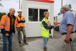 Visite der chantiers estivaux - 08 08 2019