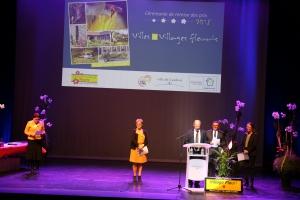 Cérémonie de remise des prix Villes et Villages fleuris 26 nov 2018 - Cambrai