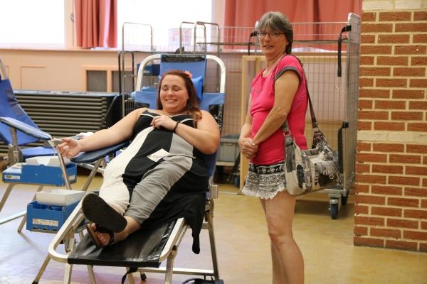 Très bonne collecte pour l'amicale des donneurs de sang de Marly