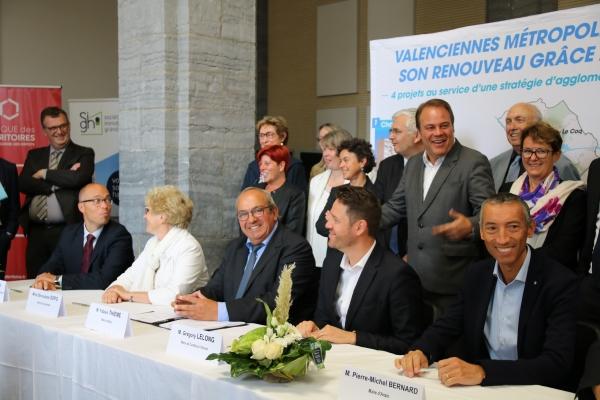 Signature de la convention de Renouvellement urbain