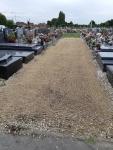 Enherbement du cimetière - octobre 2019