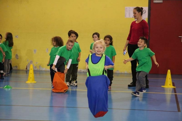 Bouch'ton école : l'activité sportive préférée des élèves de Marly !