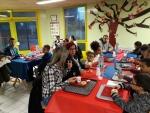 Petit déjeuner en familles à l'école Nelson Mandela - 18 10 2019