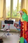Un clown tout sourire à la Perdriole !