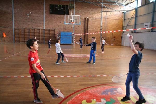 Badminton pour tous avec Marly Sports Vacances !
