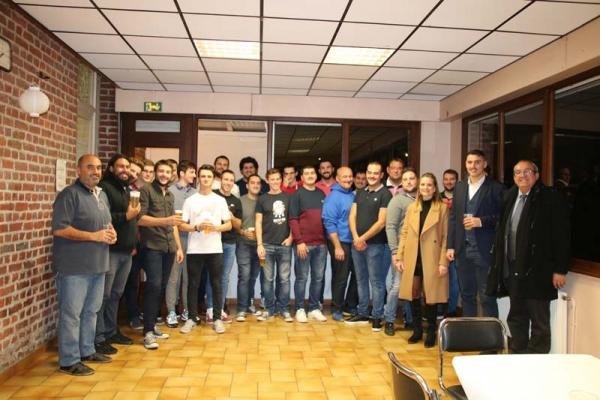 Maxime BALMES salué par le Rugby Club de Valenciennes !