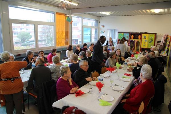 Repas aux couleurs d'Italie au Centre Social des Floralies
