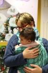 Fête de Noël, multi-accueil à La Perdriole