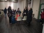 Premier départ pour le séjour aux Grangettes - 16 02 2020