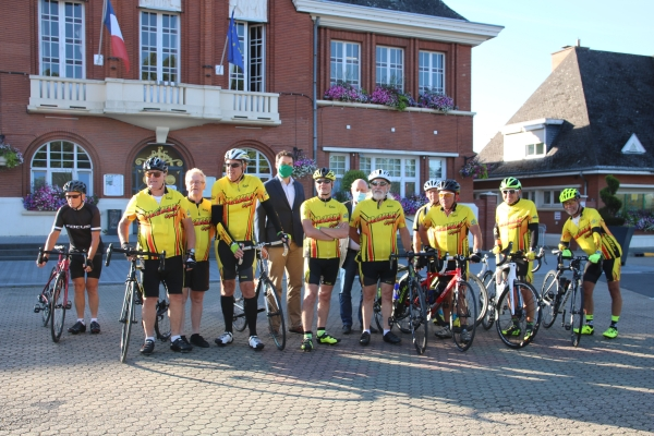 Marly Cyclo en route pour Val-Joly !