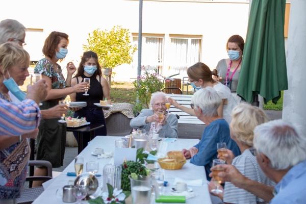 Claire COLLIER, une centenaire en pleine forme