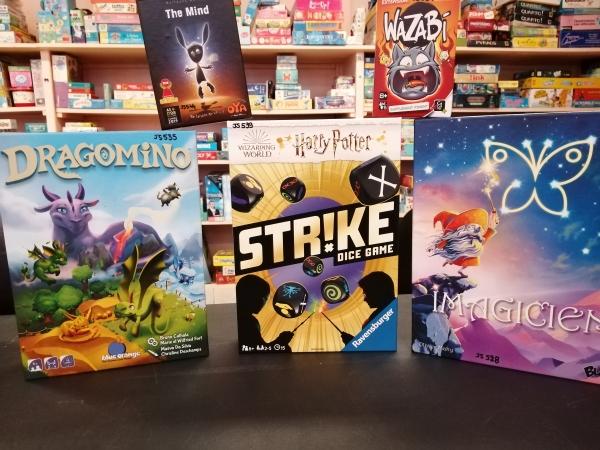 Nouveaux jeux et jouets à la Ludothèque !