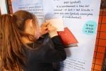 Expo sur le harcèlement scolaire à l'école Mandela - 15 03 2021