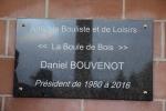 plaque commémorative Daniel BOUVENOT - 02 03 2019