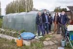 Une nouvelle serre aux Jardins Familiaux