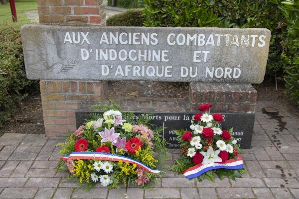 Marly rend hommage aux morts pour la France en Indochine