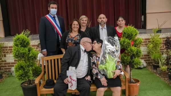 8 couples mis à l'honneur à l'occasion de la Cérémonie des Noces d'Or et de Diamant