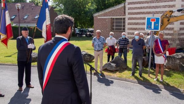 Journée commémorative de l'appel du Général de Gaulle à Marly