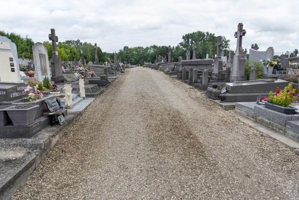 État du cimetière