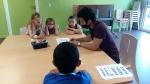 Atelier vidéomapping centre social de la Briquette 2021