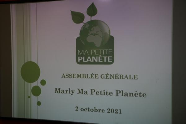 Assemblée générale de l'association « Marly, ma petite planète »
