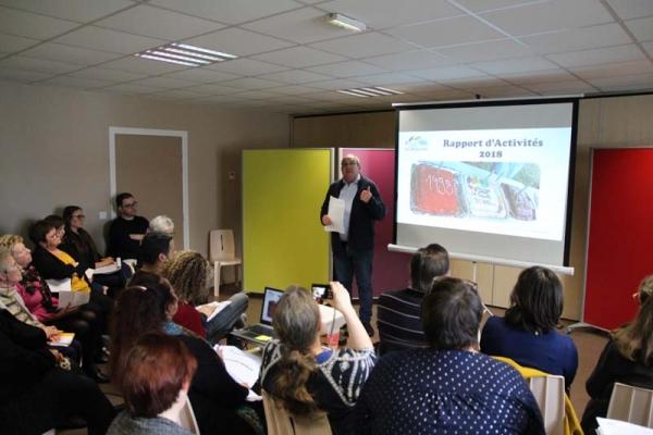 Le Centre Social de la Briquette a tenu son assemblée générale !